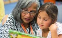 志愿阅读导师提高学生的识字能力